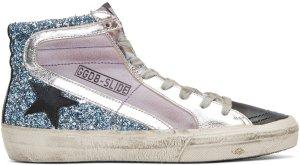 Golden Goose: Multicolor Slide High-Top Sneakers | SSENSE
