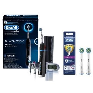 $89.94Oral-B 7000 ($25 Rebate Available) Electric Toothbrush with 2 Bonus Replacement Heads