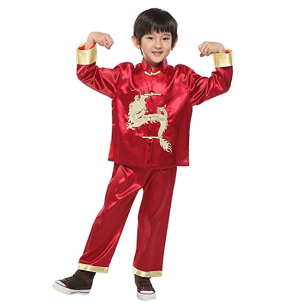 From $10.99 Kids Chinese Traditional Clothes @ Amazon