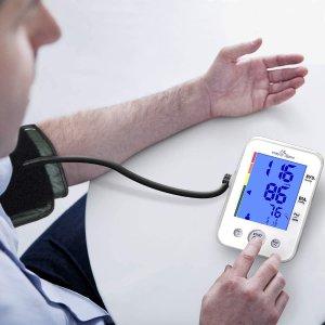$26.97(原价$65.95)免税包邮史低价:Easy@Home EBP-095L 上臂数字式电子血压计 实时监测身体健康
