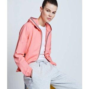 Hunter橘粉色夹克