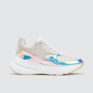 Alexander McQueenChunky Sneakers with Metallic Lining
