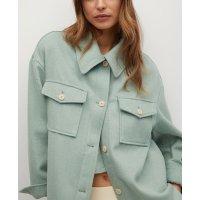 羊毛混合外套 2色选