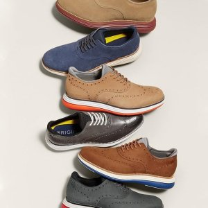 Cole Haan 折扣区男女鞋促销 收气垫牛津鞋