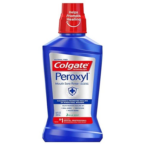 Colgate 薄荷味抗菌漱口水 250mL, 8.45 fluid ounce