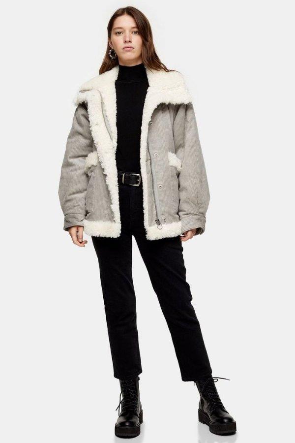 羊羔絨外套