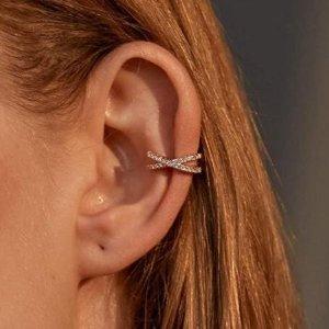 低至$0.75 时髦也不需太贵Amazon 多款时尚耳骨夹 《小舍得》小宋佳爱戴物