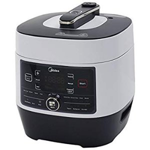 Amazon.com: Midea MY-SS6062 Power 8-in-1 Multi-Functional Programmable Pressure Cooker, 6Qt/1000W Stainless Steel: Kitchen & Dining