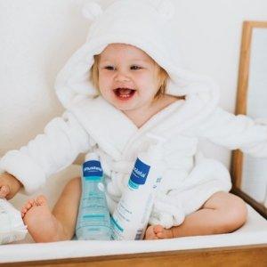 全场6折+满$75送好礼Mustela 法国妙思乐新生儿洗护产品特卖 给宝宝用天然的,才放心