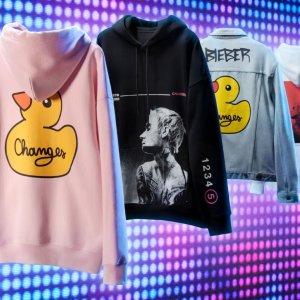 £29收小黄鸭帽衫!抢!补货:H&M x Bieber Changes 卫衣抢鲜收 Bieber迷妹看过来