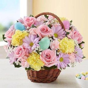 满$49减$101-800-Flowers 官网复活节主题绿植鲜花促销