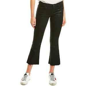J BrandSelena 黑色喇叭裤