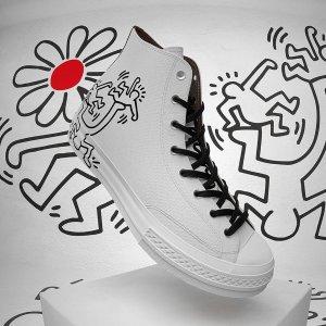 Conversex Keith Haring 联名Chuck 70 高帮帆布鞋