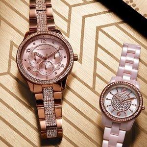 低至5折Michael Kors 精选男女手表促销
