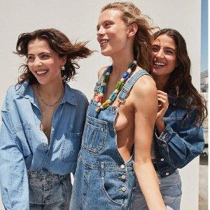 折扣升级:Urban Outfitters 牛仔裤专区 美且帅 修身又百搭 无人不爱牛仔裤