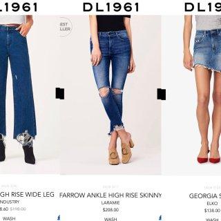 牛仔裤新贵DL1961 ▏几百刀的牛仔裤到底贵在哪