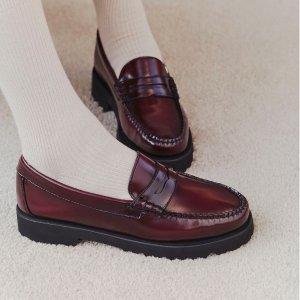 额外7折 雪地靴$31收G.H. Bass & Co. Online 全场鞋履热卖 封面款$55收