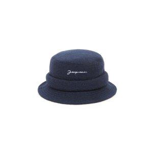JacquemusLe Bob刺绣羊毛帽