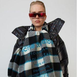 6折+免邮 针织毛衣$100+acne studios  时尚单品热卖,新款格子围巾$143