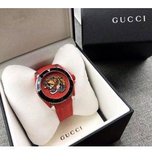 最佳生日礼 £460拿下Logo Watch男人之光第一弹! Gucci超洋气时装表全新上架