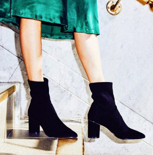 Dealmoon Exclusive Free Overnight ShippingWith THE NEW 5050 BOOTIE Purchase @Stuart Weitzman