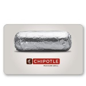 Chipotle$50 gift card