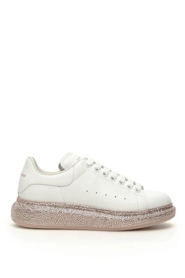金底小白鞋