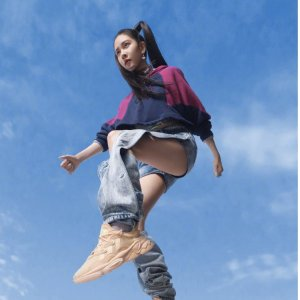 Adidas宋妍霏同款女款拼色卫衣