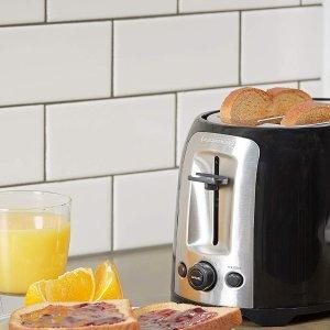 $19.99(原价$29.99)Black+Decker 加宽多士炉 香喷喷 快手营养早餐轻松做