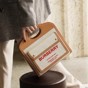 低至4折 史低€799收封面口袋包Burberry 年中最给力 爆款双肩包、TB豆腐包、托特包都折扣