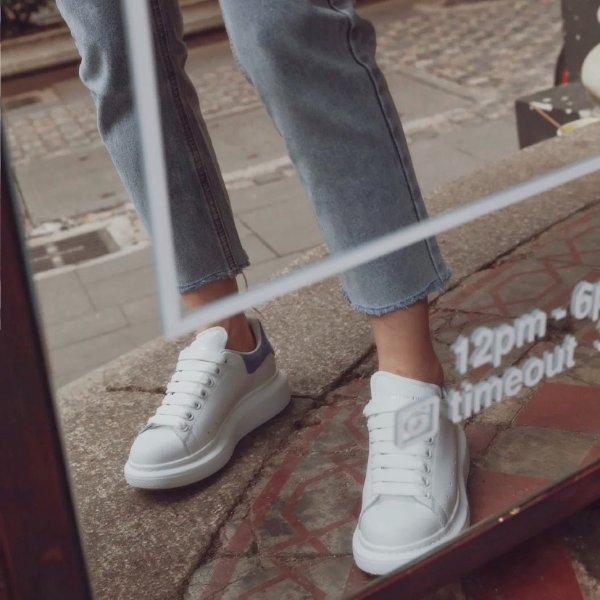 小白鞋 灰蓝