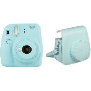 仅$54起 附赠同色相机包 免税包邮Fujifilm Instax Mini 9 富士 迷你拍立得 多色可选