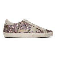 GOLDEN GOOSE Pink Glitter 小脏鞋