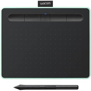 WacomIntuos Wireless Graphic Tablet, with 2 Free Creative Software downloads, 7.9