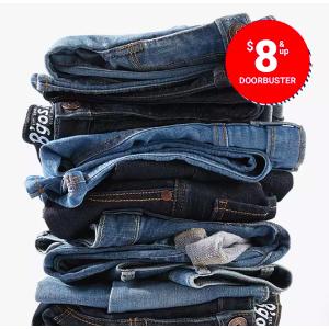 $8 and UpOshkosh Bgosh Best Jeans Sale