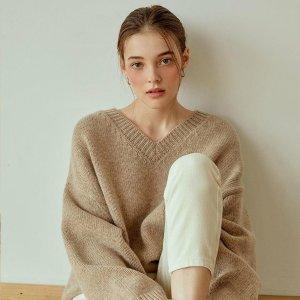 5.5折起+额外9折2021来啦:W Concept 毛衣专场 $81收毛衣裙 燕麦色毛衣$85