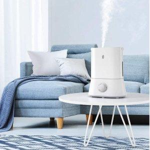 $39.99包邮(原价$59.99)TaoTronics 超静音冷雾加湿器 适合宝宝房、卧室 滋润不干燥