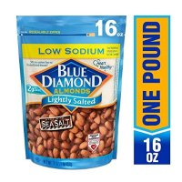 Blue Diamond Almonds 美国低盐大杏仁 16 Ounce