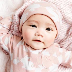 爬服单件仅$2 宝妈囤货季Carter's 白菜价 婴儿春秋纯色和尚服 打底衫爬服