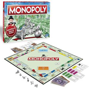 限时5折 仅€14.99Prime Day狂欢价:Monopoly 大富翁桌游 聚会神器 一起来买地盖房吧