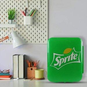 低至£49 雪碧、可乐款都有Koolatron 迷你冰箱4L 可放6罐饮料 储存香水、面膜