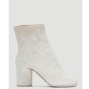 Maison MargielaTabi 白色短靴