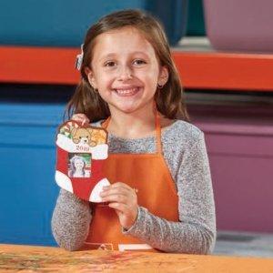 American Eagle + Stocking OrnamentHome Depot Kids Workshop