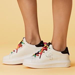满额7折 增高小白鞋$245随时截止:Karl Lagerfeld 老佛爷同名品牌休闲鞋履闪促