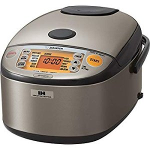 Amazon.com: Zojirushi NS-TSC10 5-1/2-Cup (Uncooked) Micom Rice Cooker and Warmer, 1.0-Liter: Kitchen & Dining