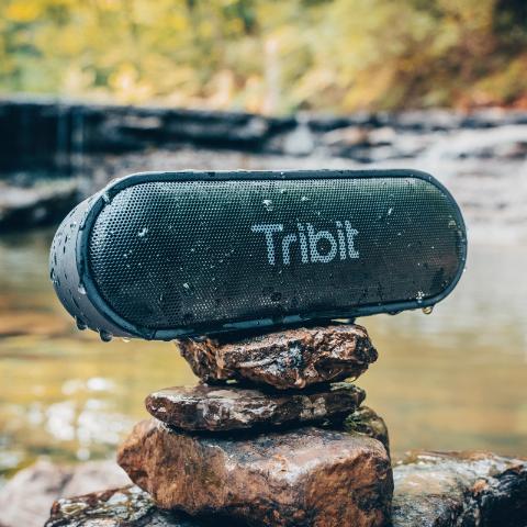 立体声播放, 24h使用时长, IPX7防水Tribit 便携音箱大促 全场低至6.5折, $23收封面款XSound Go
