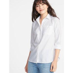 Old Navy白色衬衫