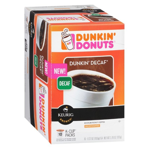 K-Cups 原味咖啡胶囊 Decaf版 10个