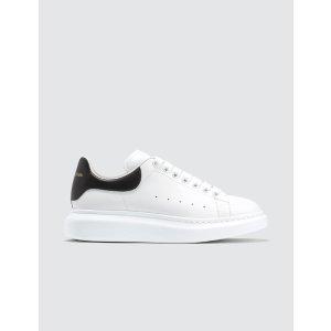 Alexander McQueen男士黑尾小白鞋