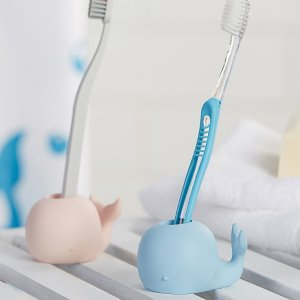 小鲸鱼牙刷托